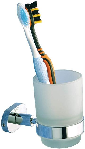 TOOTHBRUSH AND PASTE HOLDER