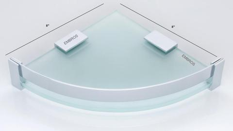 FROSTED GLASS SHELVES