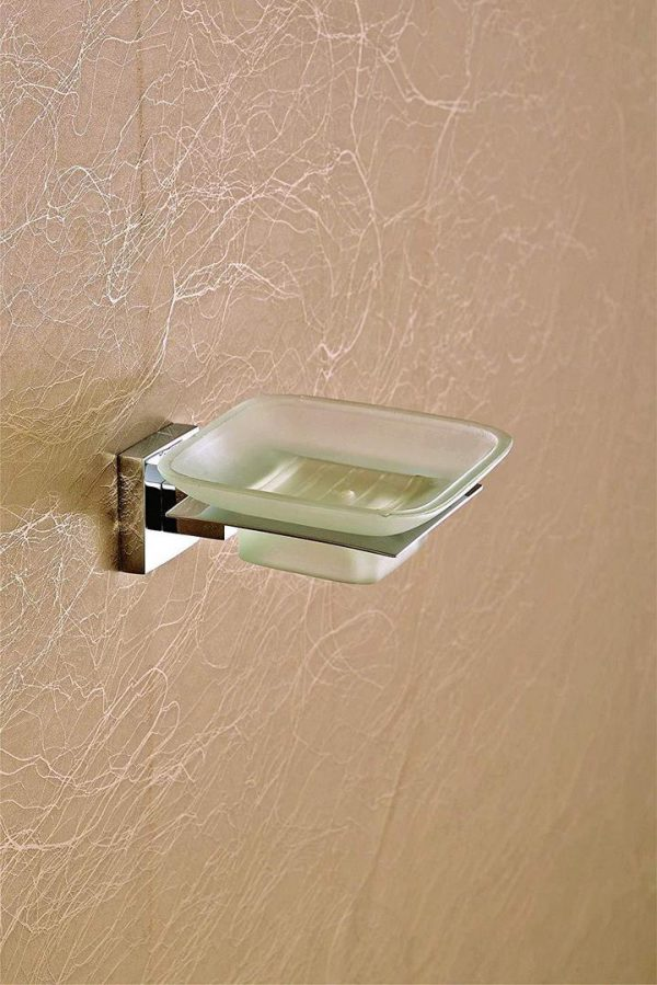WALL MOUNTED SOAP HOLDER