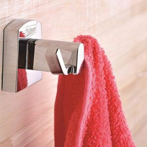 DOUBLE ROBE HOOK FOR BATHROOM