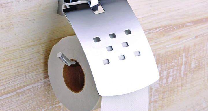 TOILET TISSUE PAPER HOLDER