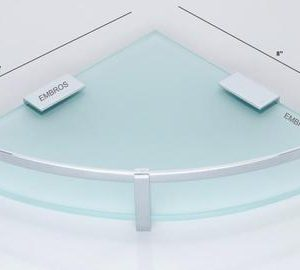 SMALL GLASS SHELF